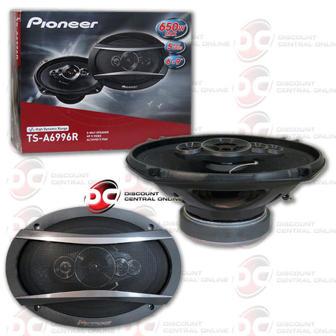 "Pioneer TS-A6996R 6x9"" 5 Way Car Audio Coaxial Speakers"