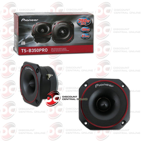 "Pioneer TS-B350PRO 3.5"" Car Audio Bullet Tweeters (Pair)"