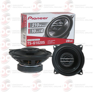 "PIONEER TS-G1020S 4"" 2-WAY CAR COAXIAL SPEAKERS"