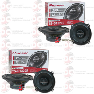 "Pioneer TS-G1320S 5.25"" 2-Way Car Audio Speakers (2 Pairs)"