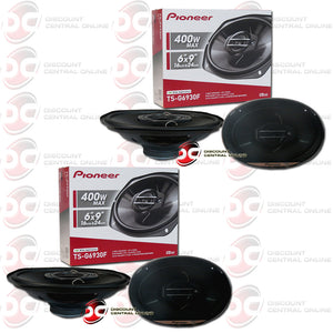 "Pioneer TS-G6930F 6x9""3-Way Car Audio Speakers (G-series) (2 Pairs)"