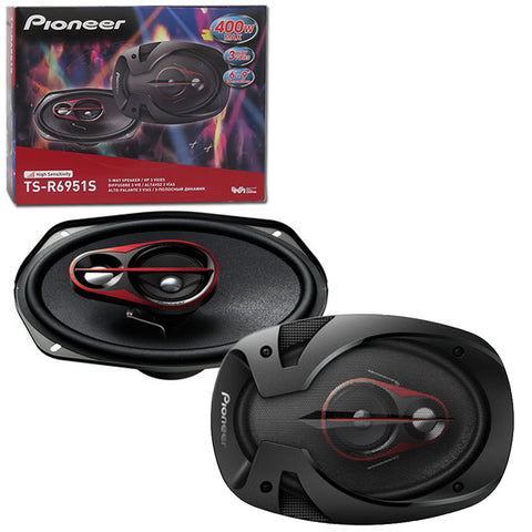"Pioneer TS-R6951S 6"" X 9"" Car Audio 3-way Coaxial Speakers (Pair)"