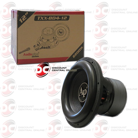 "Audiopipe TXX-BD4-12 12-inch 12"" Dual 4-ohm Car Audio Subwoofer"