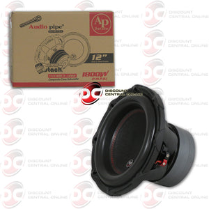 "AUDIOPIPE TXX-BDC3-12D2 12"" DUAL 2-OHM CAR SUBWOOFER 1,800 WATTS"