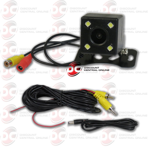 Universal Rear view Camera w/ Night Vision and 170 Degrees Wide Angle View