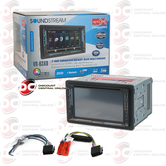 SOUNDSTREAM VR-63XB 2-DIN 6.2