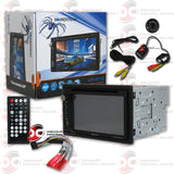 "Soundstream 2-Din 6.5"" Car CD/DVD Receiver With USB/SD Card Input And Bluetooth"