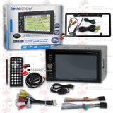 "Soundstream VRN-64HB 2-DIN 6.2"" Car GPS/DVD/CD Receiver with Bluetooth"