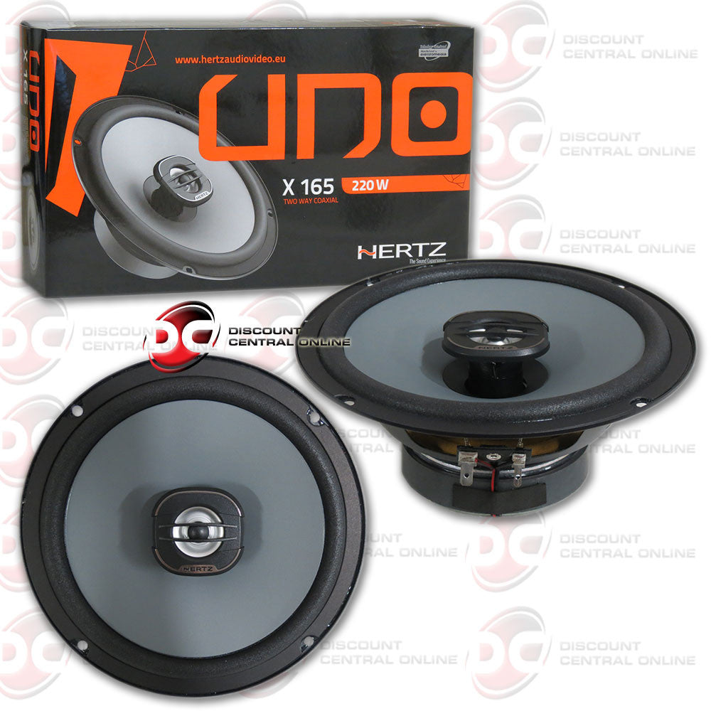 "HERTZ X 1656.5"" CAR AUDIO SPEAKERS (PAIR)"