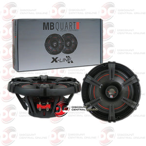 "MB Quart XK1-116 6.5"" X-Line Series 2-Way Coaxial Car Speakers"