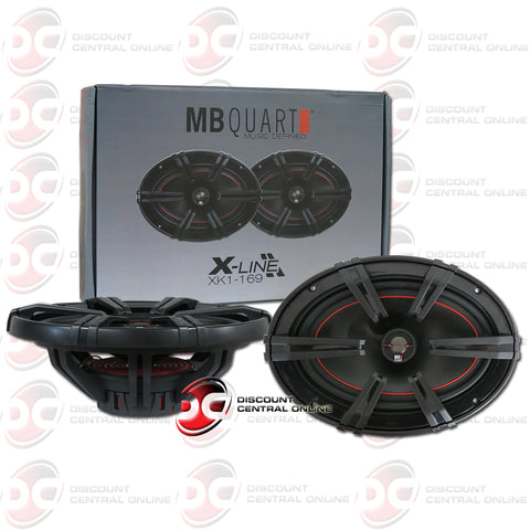 "MB Quart XK1-169 6x9"" X-Line Series 2-Way Coaxial Car Speakers"