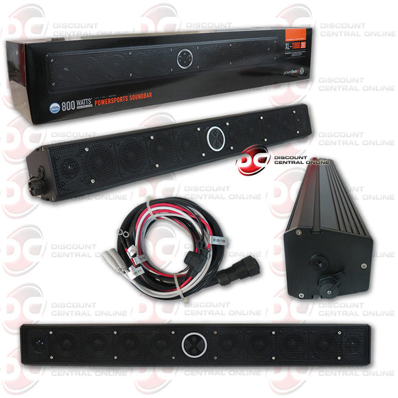 POWERBASS XL-1000 10 SPEAKER AMPLIFIED BLUETOOTH POWERSPORTS SOUND BAR FOR UTV