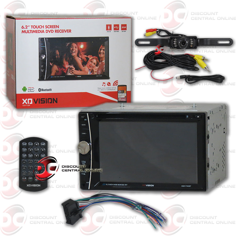 Xo Vision 2din Xod1752bt 6 2 U0026quot  Car Dvd Cd Receiver With