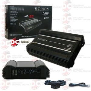 Orion XTR2500.1Dz 1-channel Mono Class D Car Amplifier