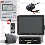 "DUAL XVM1000UI 1-DIN 10"" CAR DIGITAL MEDIA RECEIVER WITH BLUETOOTH & SCREEN MIRRORING (WITH BACK-UP CAMERA)"