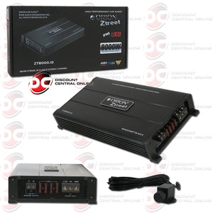 Orion ZT8000.1D ZT1 1-Channel Mono Block Class D Car Amplifier