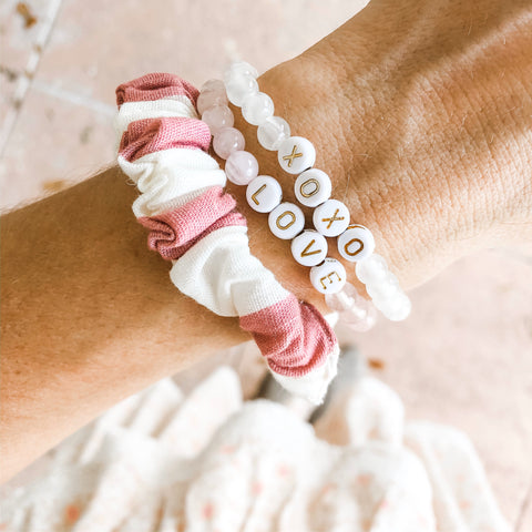 beaded word bracelets alexandra gioia