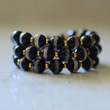 Stackable Bracelet | Tibetan Stripe