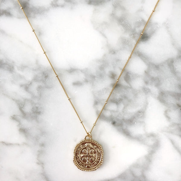 Explorer Coin Necklace
