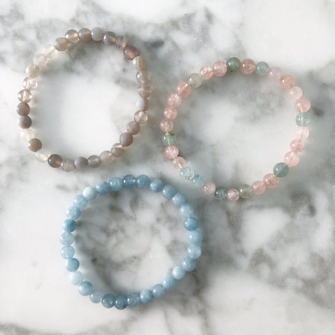 6mm Gemstone Stackers
