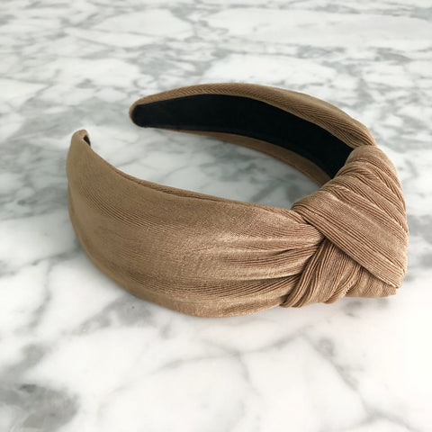 Knotted Headband | Textured Knit