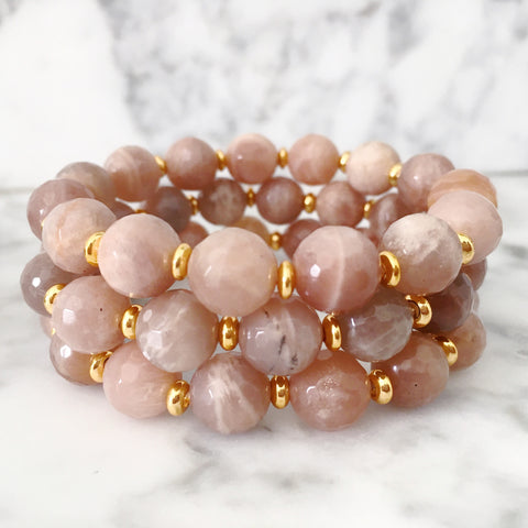 Stackable Bracelet | Sunstone