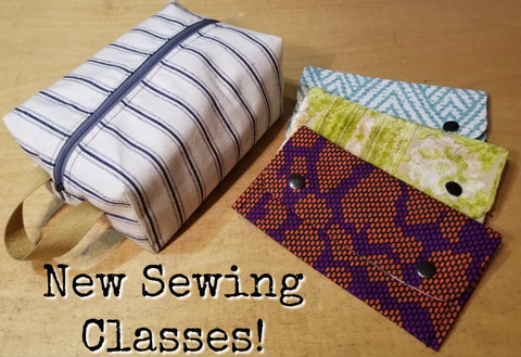 New Sewing Classes