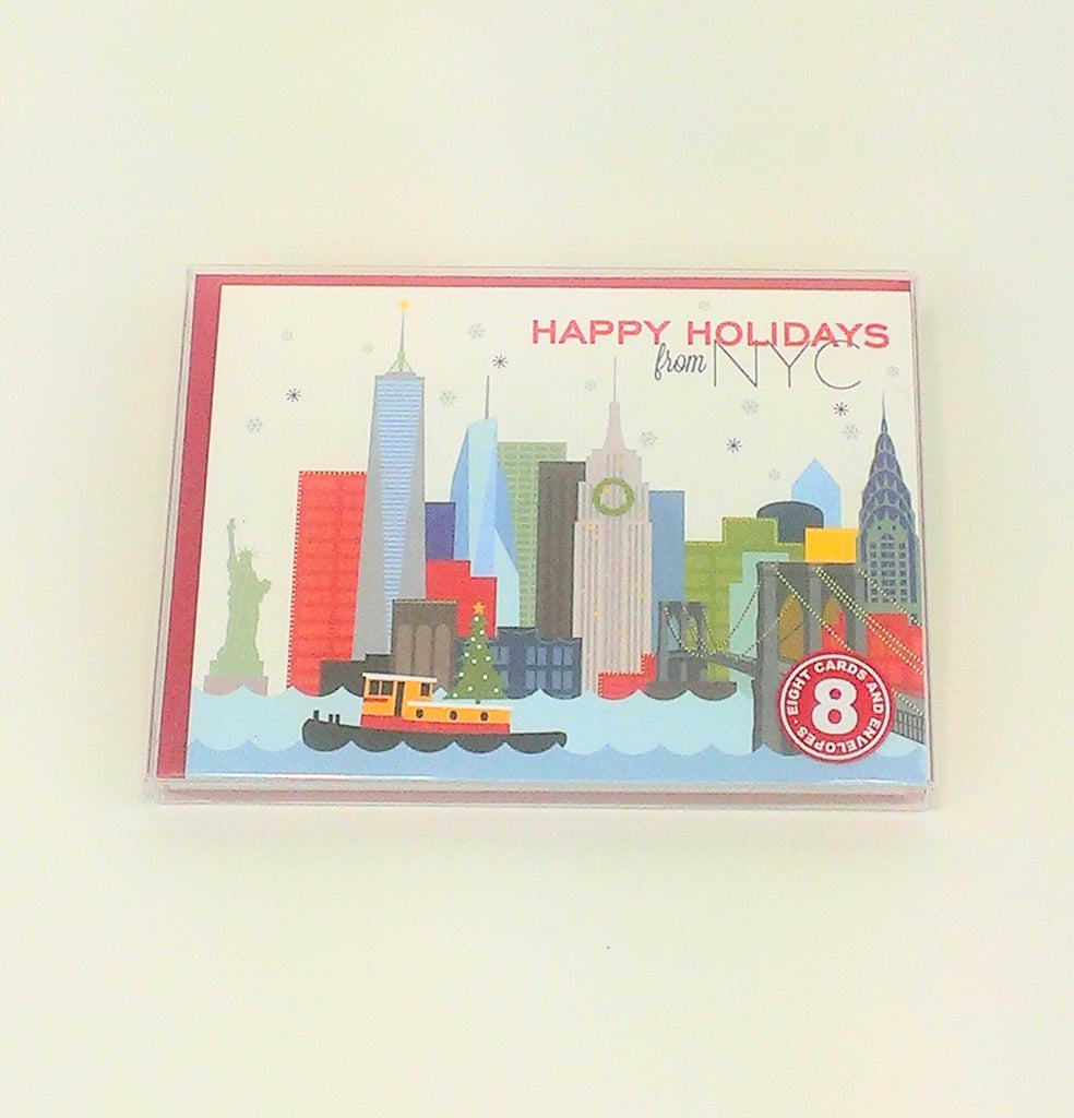 NYC Holiday Tug Boat 8 Pk
