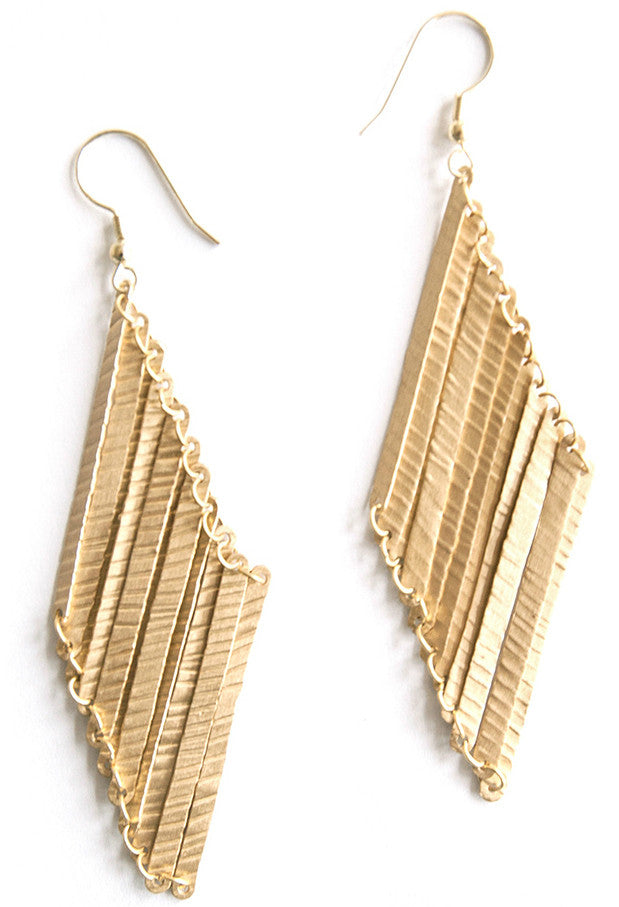 Layered Lines Earrings