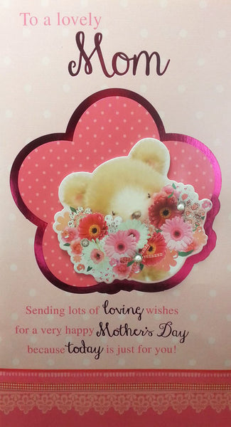 "12"" Tall Extra Large Mothers Day Card - Bear - INPCreative - 1"