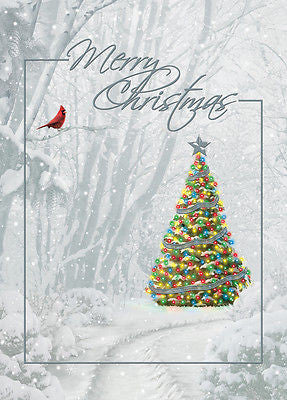 Box of 14 Christmas Cards - Merry Christmas - INPCreative - 1