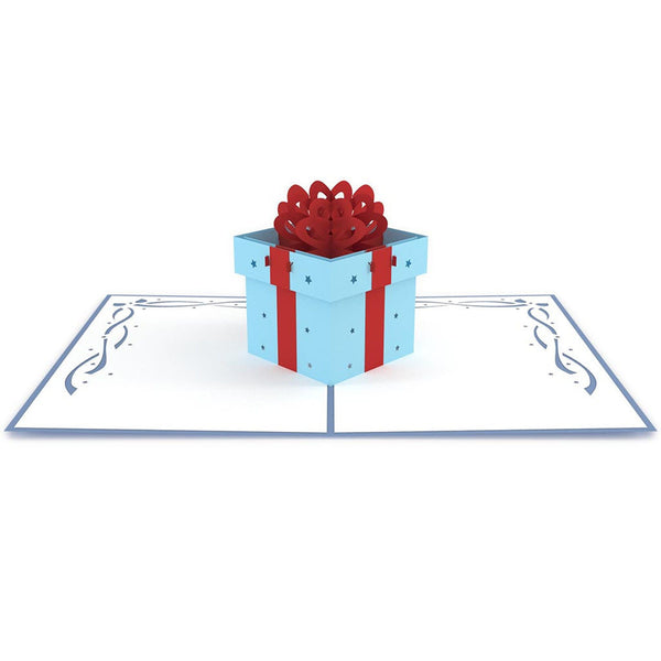 3D Pop Up Greeting - Gift Box - INPCreative - 2