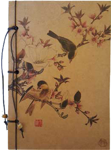 "Cherry Blossom String Bound Journal 5"" x 7"" - INPCreative"