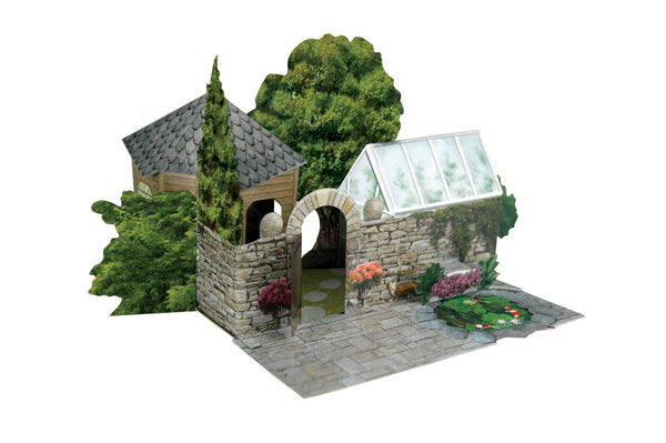 Santoro Pop Up Places 3D Greeting Card - Summer House - INPCreative - 1