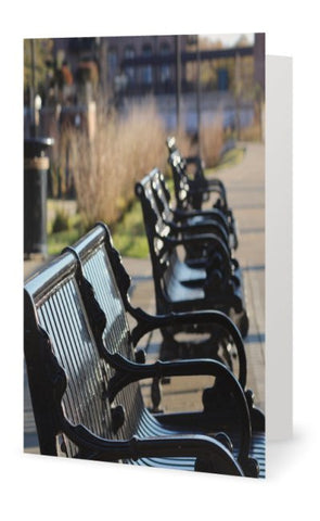Blank Card - Benches - INPCreative - 1
