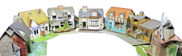 Santoro Pop Up Places 3D Greeting Card - Watermill - INPCreative - 4