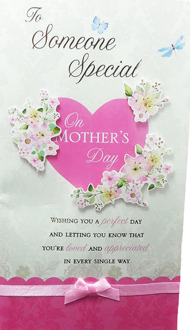 "12"" Tall Extra Large Mothers Day Card - To Someone Special - INPCreative - 1"