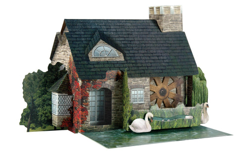 Santoro Pop Up Places 3D Greeting Card - Watermill - INPCreative - 1