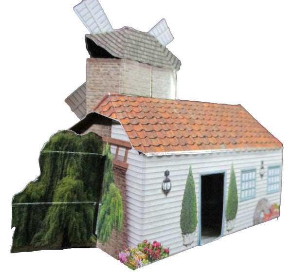 Santoro Pop Up Places 3D Greeting Card - Windmill - INPCreative - 2