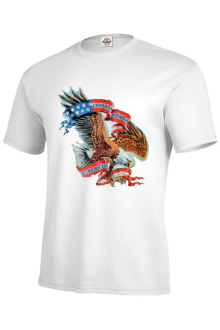 Courage Honor Strength Eagle T-Shirt (XL Only) - INPCreative - 1