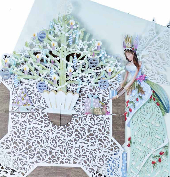 3D Pop Up Card - Fairy Tree Table - INPCreative - 3