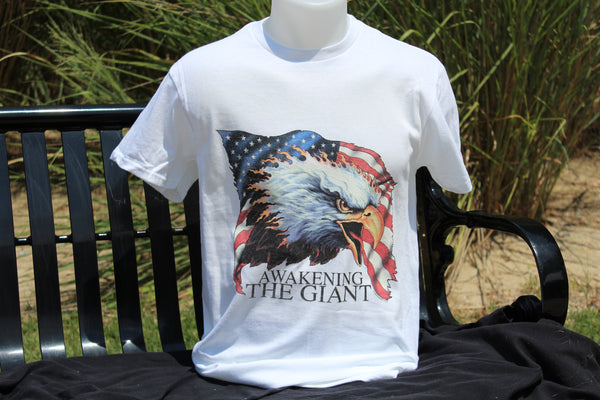 Awakening The Giant Eagle T-Shirt - INPCreative - 4