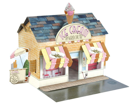 Santoro Pop Up Places 3D Greeting Card - Ice Cream Parlour - INPCreative - 1