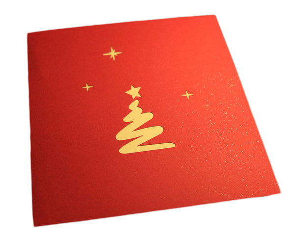 3D Pop Up Christmas Card - Christmas Tree - INPCreative - 2