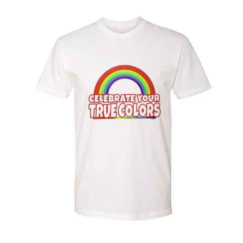 Celebrate Your Colors Pride T-Shirt - INPCreative - 1