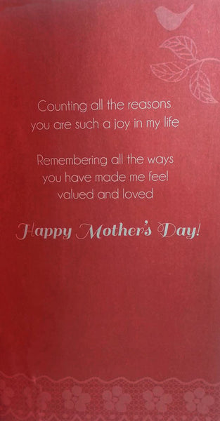 "12"" Tall Extra Large Mothers Day Card - To A Special Mom - INPCreative - 2"