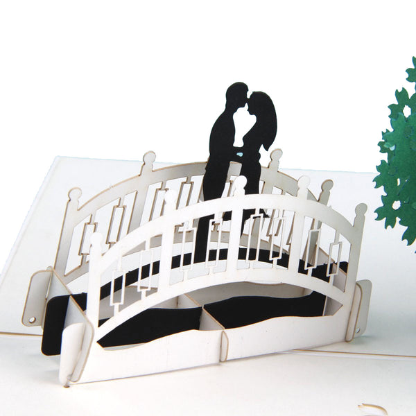 3D Pop Up Card - Lovers in Summer