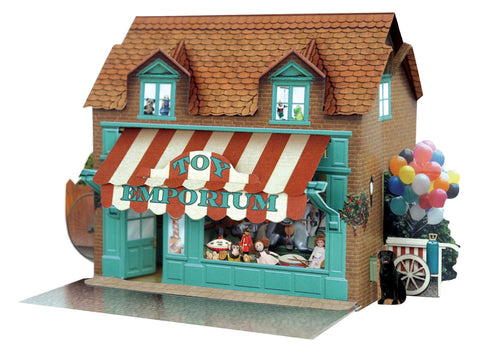 Santoro Pop Up Places 3D Greeting Card - Toy Emporium - INPCreative - 1