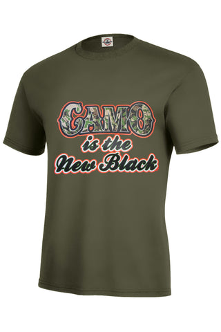 Camo Is The New Black T-Shirt - INPCreative - 1