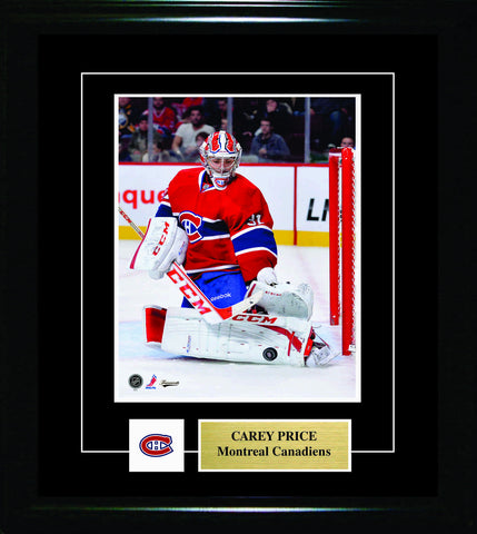 Carey Price - 8x10 Pin & Plate Montreal Canadiens